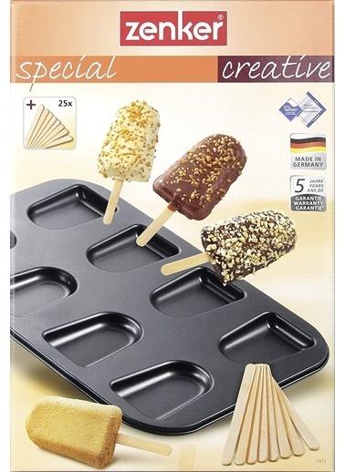 Zenker Zenker 7415 Special Creative Teflon Kaplama Kek Dondurma Tepsisi Renkli